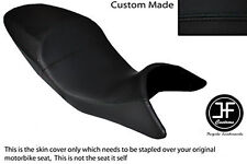 BLACK VINYL CUSTOM FITS BMW 2006-2013 R 1200 R DUAL COMFORT HIGH SEAT COVER