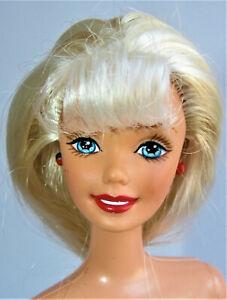 "NUDE Barbie Mattel DISNEY FUN ""EXCLUSIVE BLONDE"" LONG BLONDE SUPERSTAR FOR OOAK"