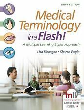 Medical Terminology in a Flash!: A Multiple Learning Styles App... Free Shipping