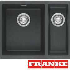 FRANKE Sid 160 1,5 Bowl Undermount Tectonite  Black Sink Pop-Up Waste & Overflow