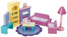 Le Toy Van DOLL HOUSE SUGAR PLUM SITTING ROOM Wooden Toy BNIP