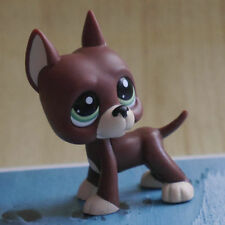 LPS Great Dane green eyes COLLECTION LITTLEST PET SHOP  DOG RARE TOY 2""
