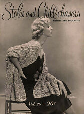 Bear Special #26 c.1951 - Stoles & Chill Chasers Patterns in Knitting & Crochet