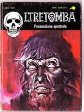 1982 Italian erotic horror comic OLTRETOMBA POSSESSIONE SPETTRALE