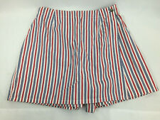 Womens Patriotic Wrap Skort by RUSS a Liz Clairborne Co for 4th of July Size 14