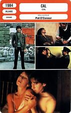 Fiche Cinéma. Movie Card. Cal (Irlande) 1984 Pat O'Connor