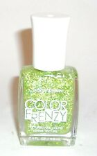 Sally Hansen COLOR FRENZY Textured Nail Polish GREEN MACHINE 370