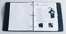 2003 DEALERS INFO BINDER MAMIYA/LEAF/SEKONIC/TOYO VIEW