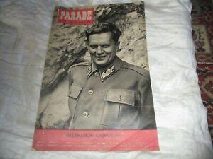 PARADE WWII ERA CURRENT AFFAIRS NEWS MAGAZINE JUNE 3 1944 No 199