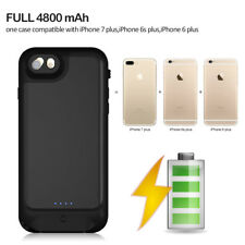 US Waterproof Battery Case 4800mAh Power Bank For iPhone 7 8 Plus 6 6S