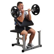 """Powerline Bizeps-Curl-Bank """"Gut und Günstig"""" für eine optimale Trainingsposition"""