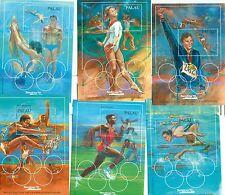 OLYMPIC GAMES BARCELONA 1992 PALAU 1992 blocks