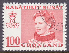 Royalty Used Greenlandic Stamps