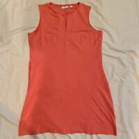 NEW YORK AND COMPANY Women's Coral Sleeveless Dress Size M