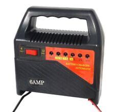 Caricabatterie moto/autoveicoli/imbarcazioni 6,0 Amp 6/12 Volt