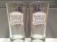 Pair of Samuel Adams Boston Lager Baseball Pint Beer Glasses!!!