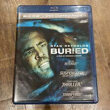 Ryan Reynolds Buried Blu-ray Only Preowned 2010 Movie Dvd