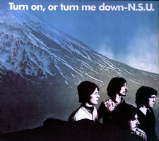"N.S.U.: ""turn on, or turn me down"" (CD)"