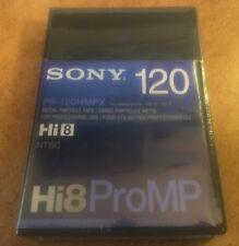 New listing Sony Hi8 ProMp P6-120 Hmpx Pro Metal Professional Video Cassette Japan