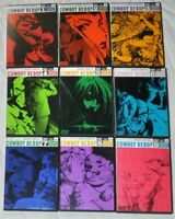 Cowboy Bebop Complete Collection Vol 1-9 DVD Set 9 disc Anime Bandai Rare Used