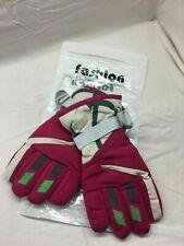 Lovely Winter Kids Boys & Girls Ski Gloves Adj. Strap Thermal Mittens 1-4 YR