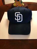MLB  San Diego Padres Cap White Lettering Navy Blue Major League Licensed