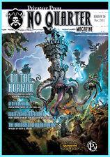 NO QUARTER MAGAZINE ISSUE 39 Privateer Press NEW Warmachine Hordes November 2011