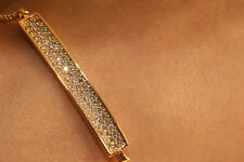 Yellow Gold Finish Chain Bracelet In 18K For Women Anniversary Adjustable Size