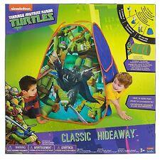 Unisex Tmnt Teenager Mutant Ninja Turtles Camp N' Play Pop Up Tent-Brand New!