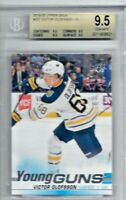 2019/20 UPPER DECK #207 VICTOR OLOFSSON YG YOUNG GUNS RC ROOKIE SABRES BGS 9.5