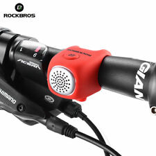 RockBros Electric Bike Bells Horn Rainproof MTB Bicycle Handlebar Bell Red