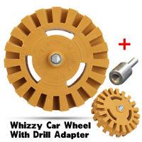 Decal Eraser Wheel Pinstripe Eraser Disk Wheel Remove Car Decals with Arbor