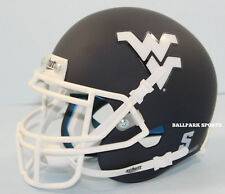 WEST VIRGINIA MOUNTAINEERS (Matte Navy Alternate) Schutt XP Mini Helmet