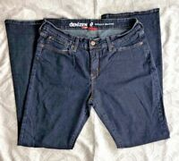 Levis Denizen Totally Shaping Womens Jeans Dark Blue Bootcut Stretch Denim