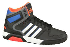 New Men's Adidas NEO BB9TIS Mid Top Basketball Shoes Mens Black Sneakers 11 M