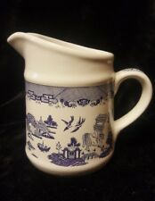 Vintage Heritage Mint Blue Willow Pantry Collection 32 Ounce Pitcher 6""