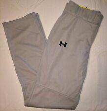 Nwt Under Armour Performance Apparel Baseball Heat Gear Gray Loose Pants Mens M
