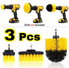 3 Pcs Drill Brushes Set Tile Grout Power Scrubber Cleaner Spin Tub Shower Wall