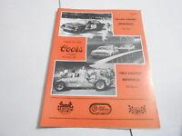 #MISC-2767 vintage CAR RACING PROGRAM - AUG 18 1985 ALLEN CROWE MEMORIAL