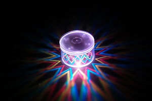 Set of 2 LiteRays LED Light Up Projection LitePod Drink Accessory- Dagger