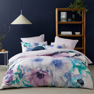 Logan and Mason Lovelle Quilt Cover Set Lilac
