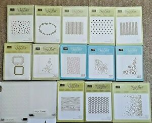 Stampin' Up! Embossing Folders, Sold Separately