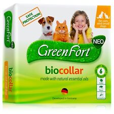 Flea and Tick Collar for Dogs and Cats - Natural Flea Treatment for Pets Kittens