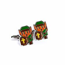 The Legend of Zelda 8 Bit Style Cufflinks