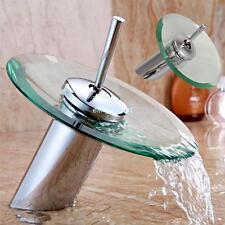 Mixer Tap Rubinetto miscelatore a cascata per bagno bidet lavabo in vetro basin