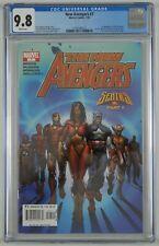 New Avengers #7 CGC 9.8 - 1st appearance of Illuminati - Dr Strange white pages