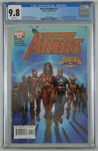 New Avengers #7 CGC 9.8 - 1st appearance of Illuminati - Dr Strange white pages