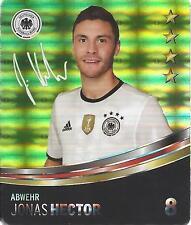 Sammelbild Nr 8 Jonas HECTOR REWE Glitzer Sticker Fußball EM 2016 DFB