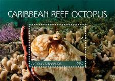 Antigua Barbuda 2018 CARIBBEAN REEF OCTOPUS SHEETLET  I201805