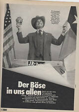 DALLAS , LARRY HAGMAN, PATRICK DUFFY     clipping from German magazines12 pages